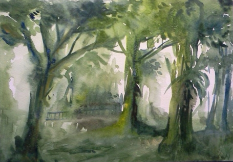 Watercolor - Forests