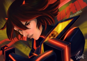 fan_art___kill_la_kill_ryuko_by_zeon1309-d72izf6