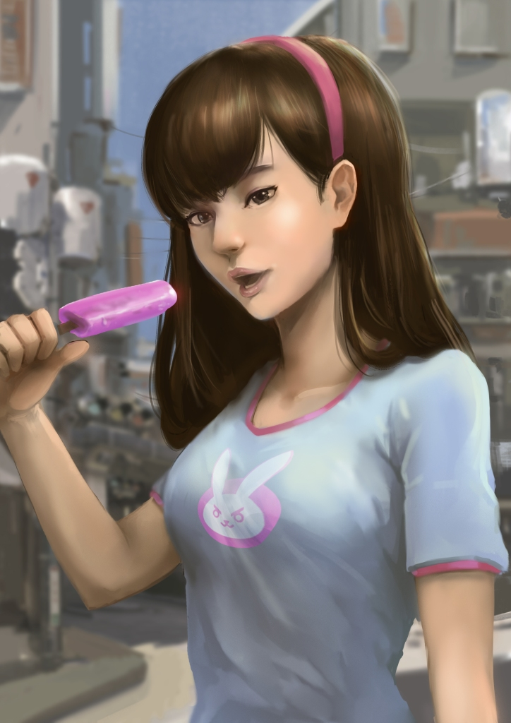 wcZeonArt_icream break D'va