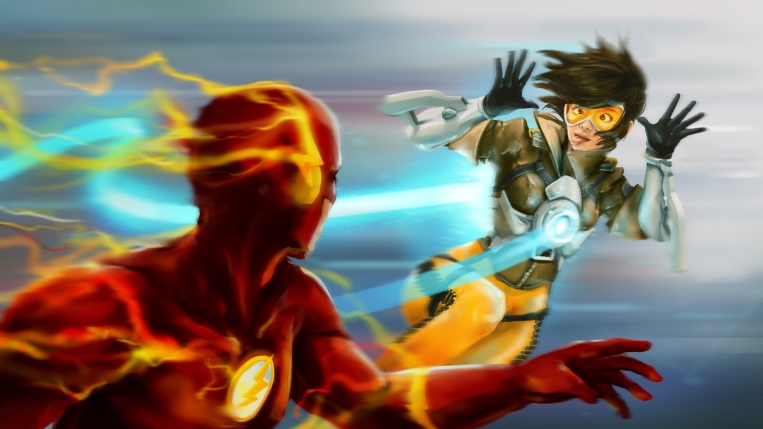 wcZeonArt_tracer vs flash