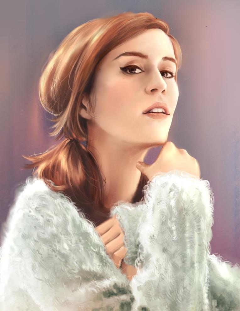 wcZeonArt_Emma Watson Photostudy