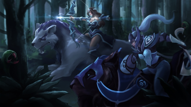 wcZeonArt_Dota 2 fan art